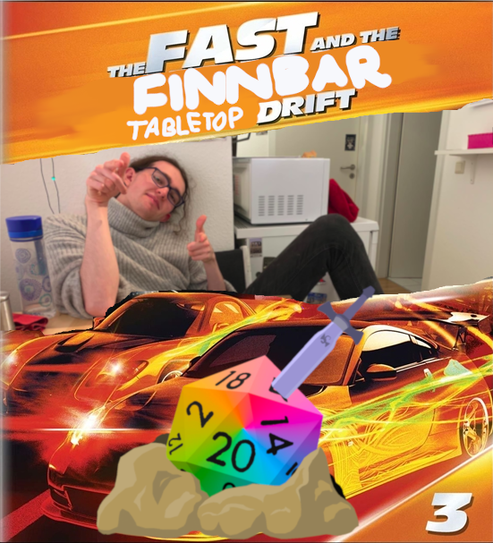 Fast and Finnbar 3: Tabletop Drift